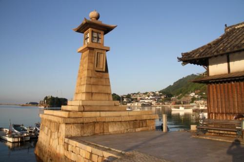 福山 鞆の浦の常夜灯