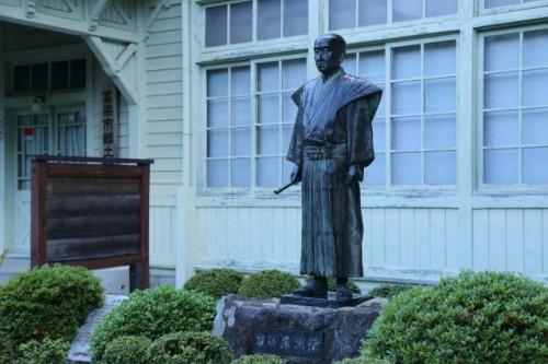 山田方谷像