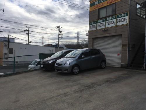 横浜店駐車場