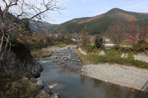岡山県鏡野町 香々美川