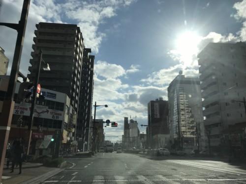 岡山市街地
