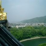 岡山城 鯱